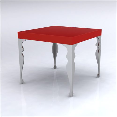 4x4x42-Neo-Baroque Table-REDSLVR-001