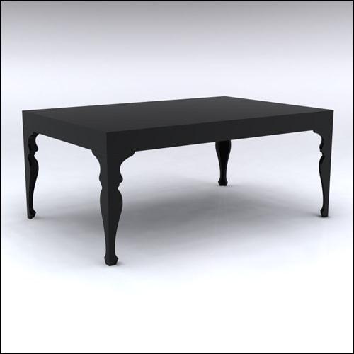 4x6x30-Neo-Baroque Table-BLK-001