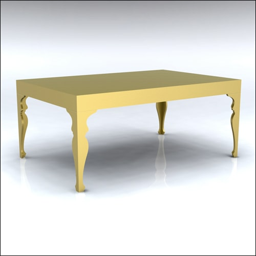 4x6x30-Neo-Baroque Table-GLD-001