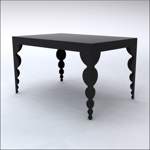 4x6x42-Bubble Table-BLK-001