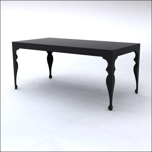 4x8x42-Neo-Baroque Table-BLK-001