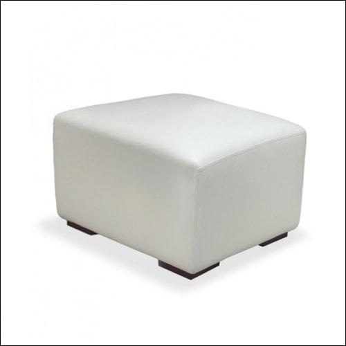 MOD Cube Ottoman WHT