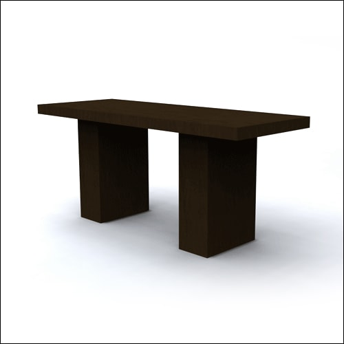 Darkwood Dining Table-F-T-D-017-H-001