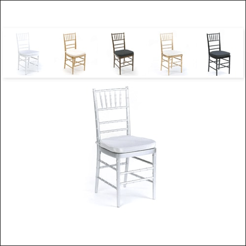 Chivari Chair F-S-C-001-SLVR