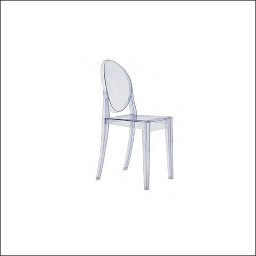Clear Victoria Ghost Chair F-S-C-003