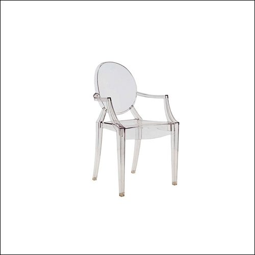 Clear Louie Ghost Chair F-S-C-004