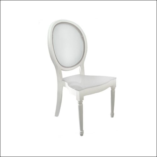 Neo-Baroque Louie Chair F-S-C-005-WHT