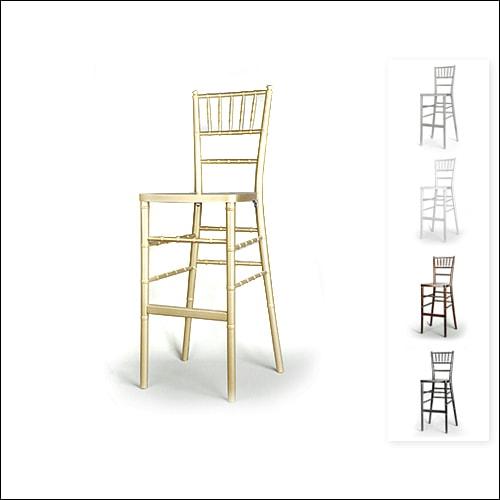 Chivari Bar Height Chair F-S-C-006-GLD
