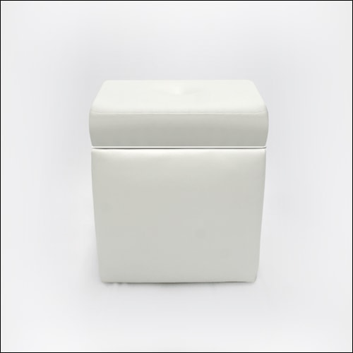 Mod Square Puff Ottoman/Bench F-S-O-011-WHT