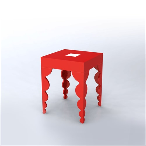 2x2x30-Bubble-Cocktail-Table-RED-001