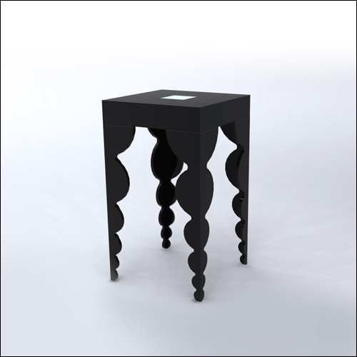 2x2x42-Bubble-Cocktail-Table-BLK-001