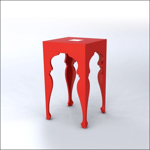 2x2x42-Neo-Baroque-Table-RED-001