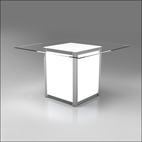 Mod Geo Illumina Dining Table F-T-DCD-042B-L