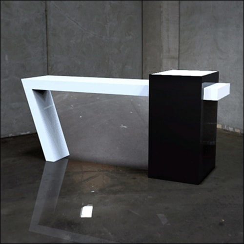Trapeza-Bar-Single-W-Mirror