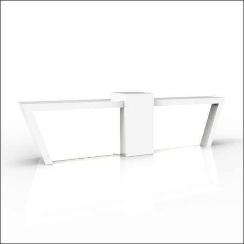Trapeza-Bar-Double-W-Acrlic-White-001