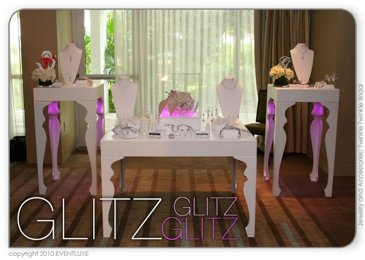 Glam & Glitz - Show UP & Show OFF Event and trade show display.