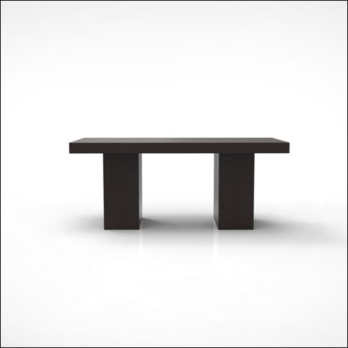 Espresso Harmony Dining Table (3u0027x6u0027x30u2033H)