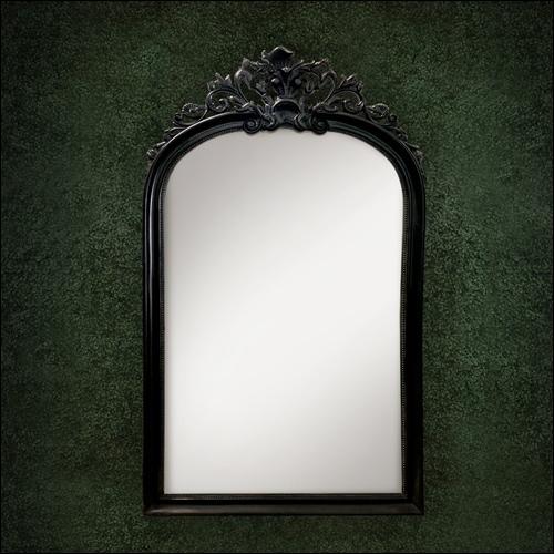 Vintage Full Length Mirror Black Eventluxe